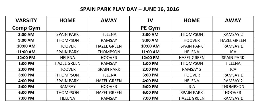 Spain Park Play Day