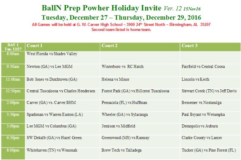 BallnPrep Day1